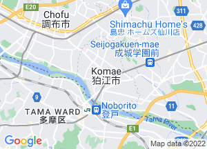 Google Map狛江市地図