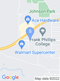 Frank Phillips College map