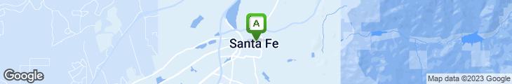 Map of La Casa Sena