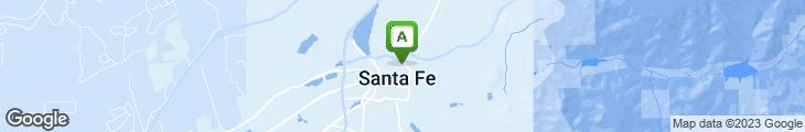 Map of Santacafe