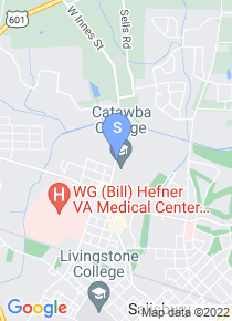 Catawba College map
