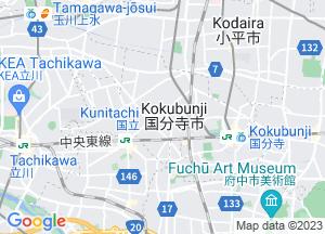Google Map国分寺市地図
