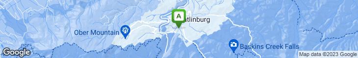 Map of Calhoun's
