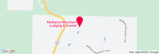 Map for Mulberry Mountain Lodging and Events