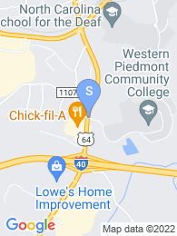 Western Piedmont Community College map