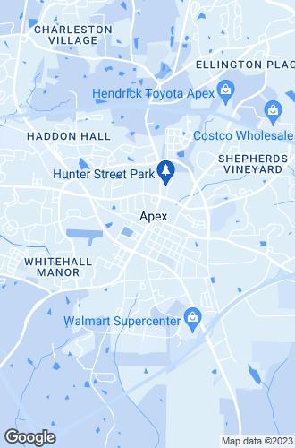 Map of Apex