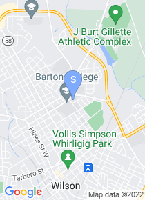 Barton College map