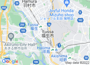 Google Map福生市地図