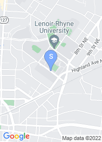 Lenoir Rhyne University map