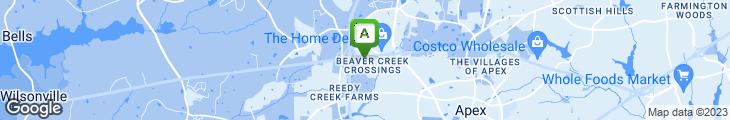 Map of Tyler's Restaurant & Taproom