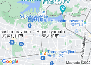 Google Map東大和市地図
