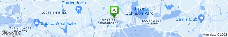 Map of Carolina Ale House