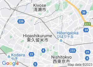 Google Map東久留米市地図