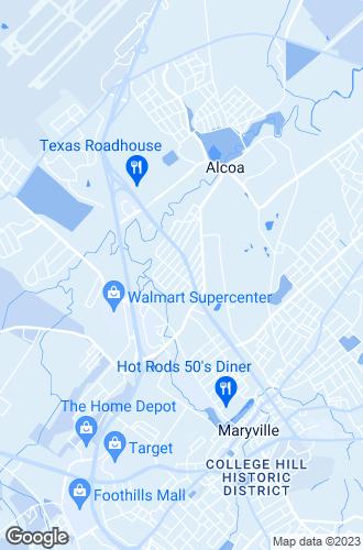 Map of Alcoa