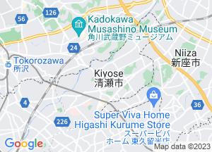 Google Map清瀬市地図