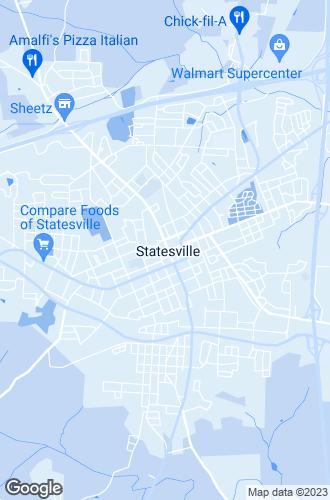 Map of Statesville