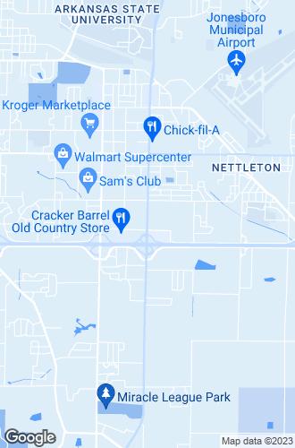 Map of Jonesboro