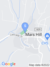 Mars Hill College map