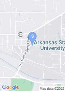 Arkansas State University map