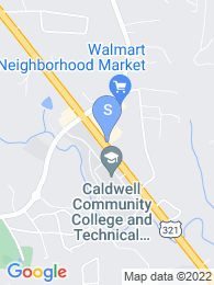 Caldwell Community College map