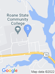 Roane State Community College map