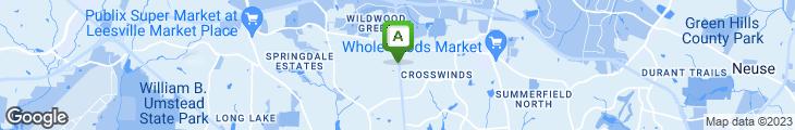 Map of Brigs Restaurant