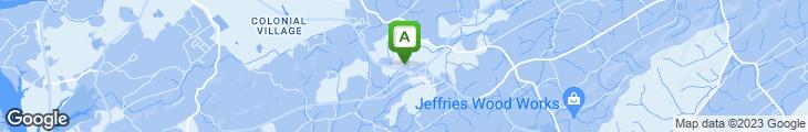 Map of Jumbo Buffet