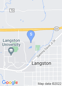 Langston University map