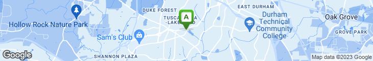 Map of Nana's Restaurant