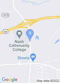 Nash Community College map