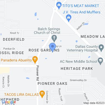 3500 Pioneer Rd, Balch Springs, TX 75180, USA