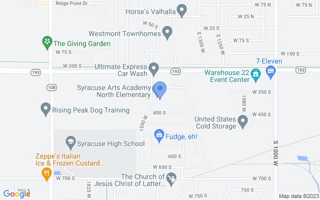 357 S 1550 W, Syracuse, UT 84075, USA