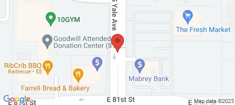 Location map for 10 & 12 Vale Street Birmingham Gardens
