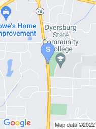 Dyersburg State Community College map