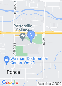 Porterville College map