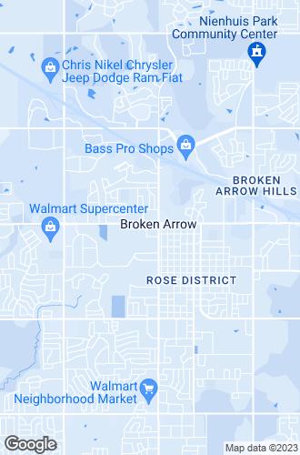 Map of Broken Arrow