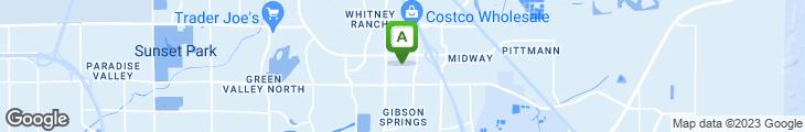 Map of Sonoma Cellar Steak House - Sunset Station Hotel &