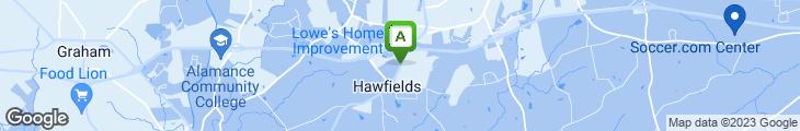 Map of Smithfield's Chicken 'n Bar-b-q
