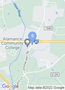 Alamance Community College map