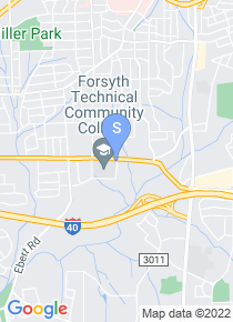 Forsyth Technical College map