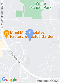 University of Southern Nevada map