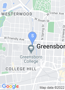Greensboro College map