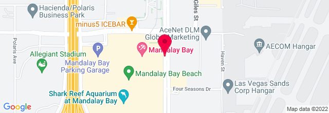 Map for Mandalay Bay Resort & Casino