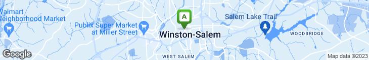 Map of Camel City Cafe