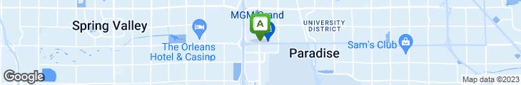 Map of Wolfgang Puck Bar & Grill At The MGM Grand