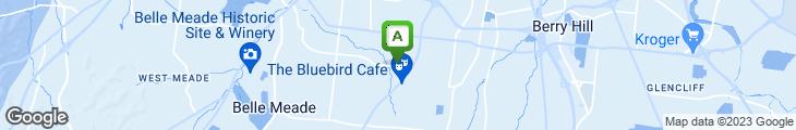 Map of Starbucks Coffee