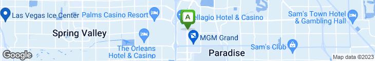 Map of Pampas Las Vegas