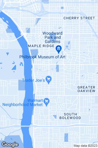 Map of Tulsa