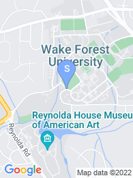 Wake Forest University map