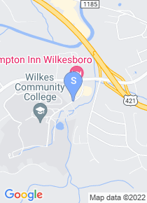 Wilkes Community College map
